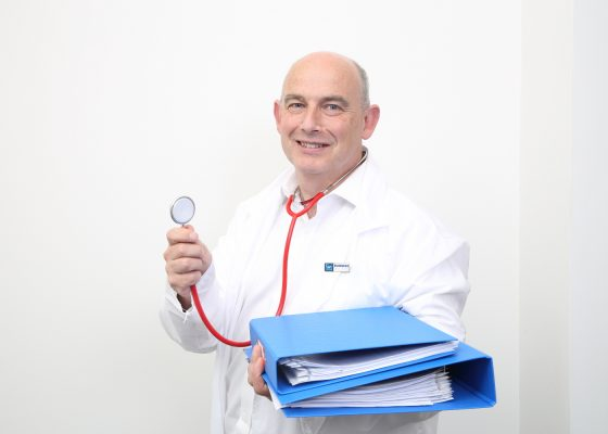 There's a new type of doctor in Crawley but he won't be taking your blood pressure anytime soon