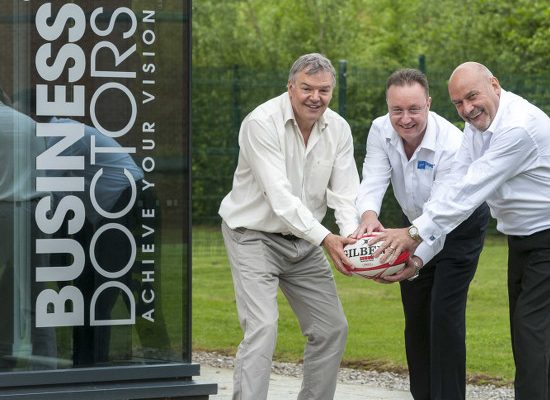 Business Doctors sponsor Lymm Rugby Club