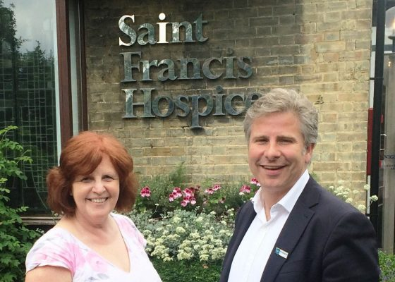 Business Doctor Helps St Francis Hospice Improve Relationships